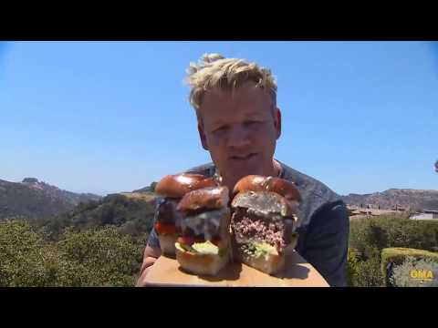 Gordon Ramsay's perfect burger tutorial