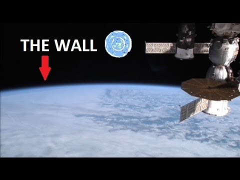 Image result for flat earth the wall of ice