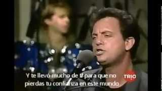 """Billy Joel """"A matter of trust"""" (Live, 86) SUBTITULADO AL ESPAÑOL"""