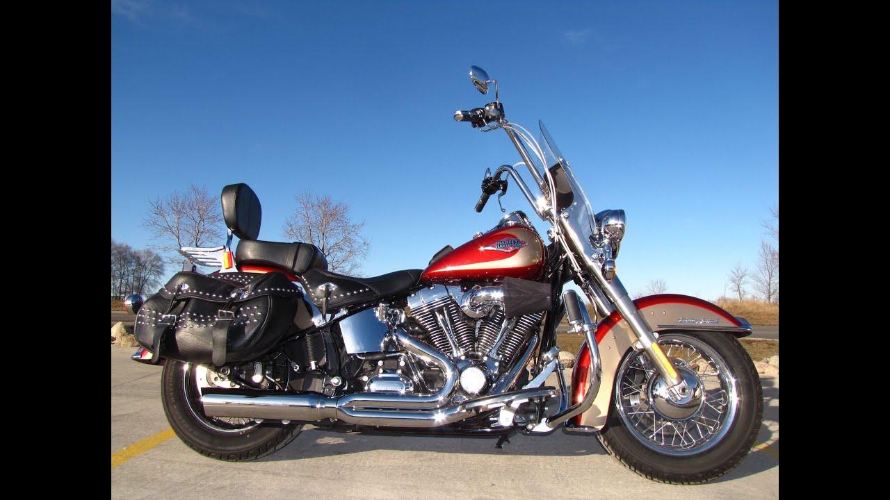 2009 Harley-Davidson HERITAGE SOFTAIL CLASSIC FLSTC - YouTube