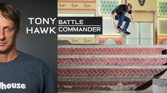 THE TONY HAWK BATTLE COMMANDER | Full Video Part At 51 Years Old