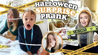 I surprised my FAMILY for HALLOWEEN and they had NO IDEA! *SURPRISE PRESENT PRANK*