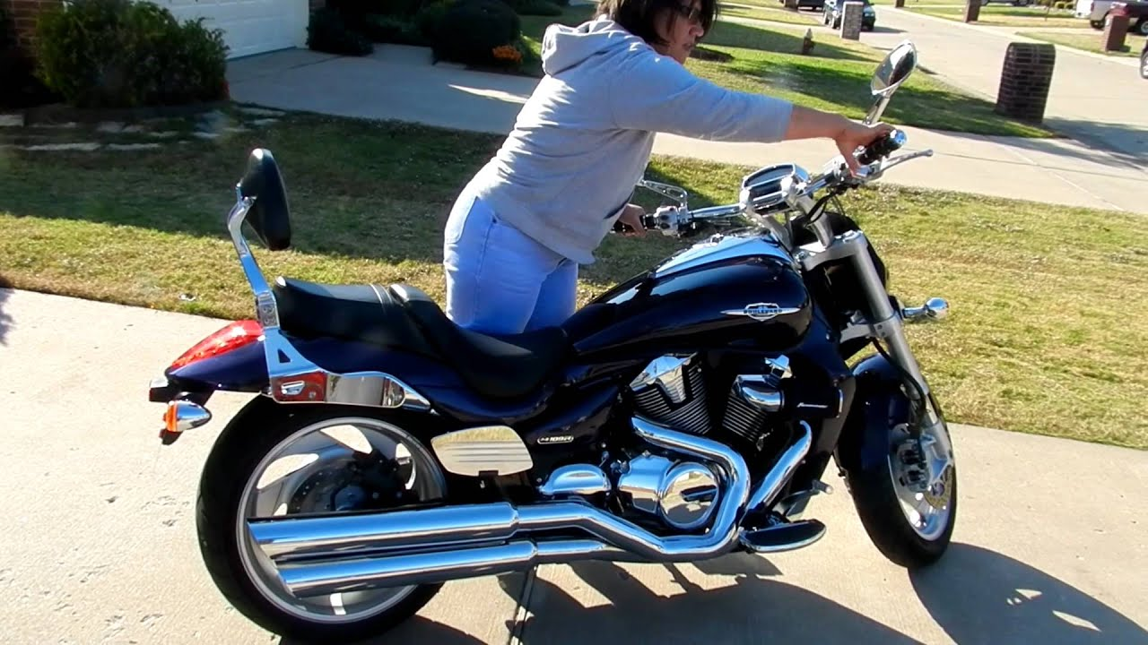 Download m109R vance and hines big shots exhaust with forcedwind air kit