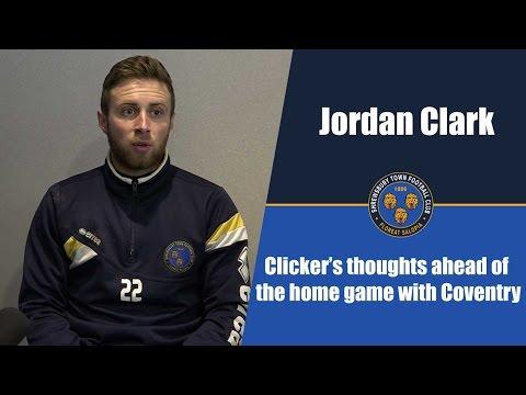 INTERVIEW | Jordan Clark pre Coventry City (H) - Town TV