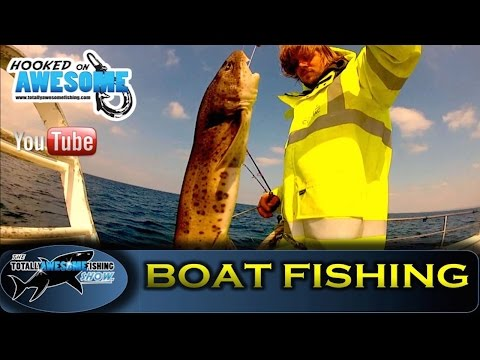 CHARTER BOAT Fishing tips in Cornwall - TAFishing Show