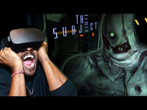 The Subject VR Demo - TRYING TO SURVIVE WHILE BEING HUNTED (Horror Game)