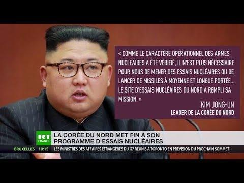 La Corée du nord annonce la fin de son programme d'essais nucléaires : décryptage