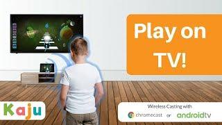 Play Mobile Games on TV   Kaju   Wireless Casting