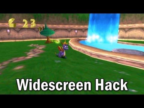 PCSXr Widescreen Hack - Spyro The Dragon Test