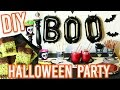 EASY DIY HALLOWEEN PARTY! Treats, Decorations, and MORE!