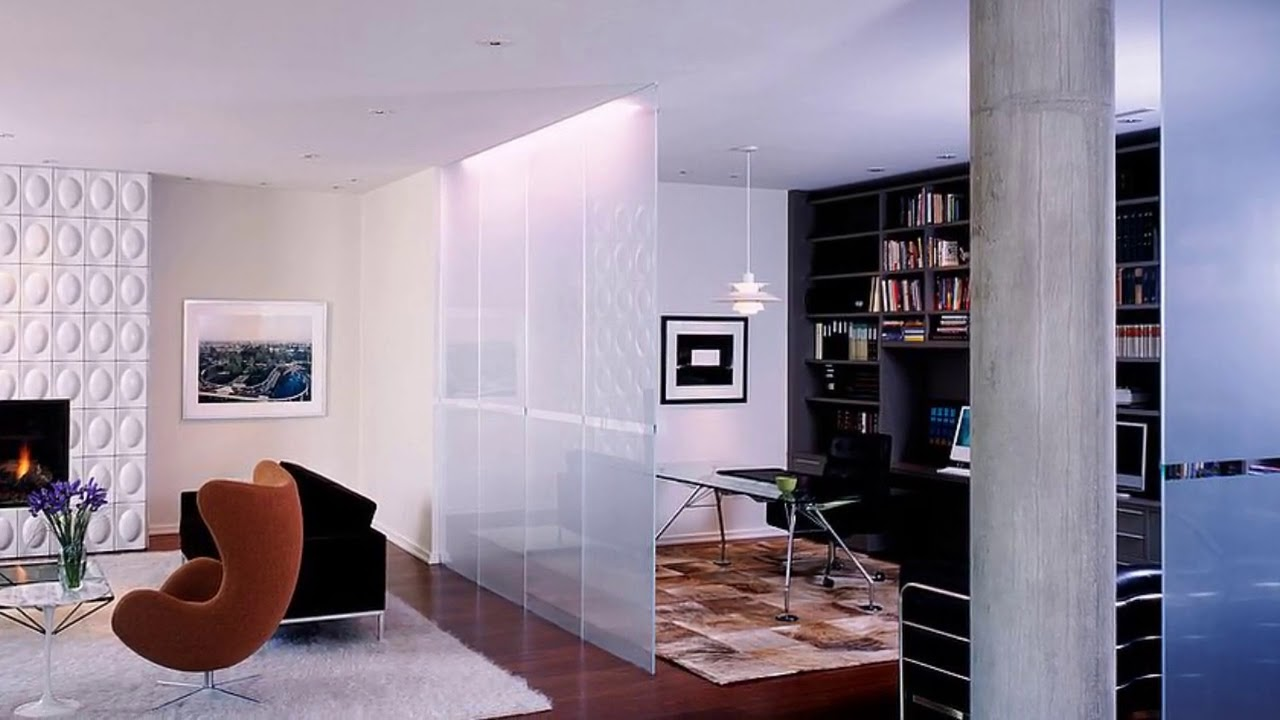 Glass Room Dividers Partitions Ideas - YouTube