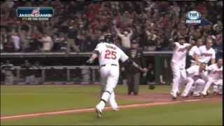 Jason Giambi Walk-off Home Run Indians 9-24-2013