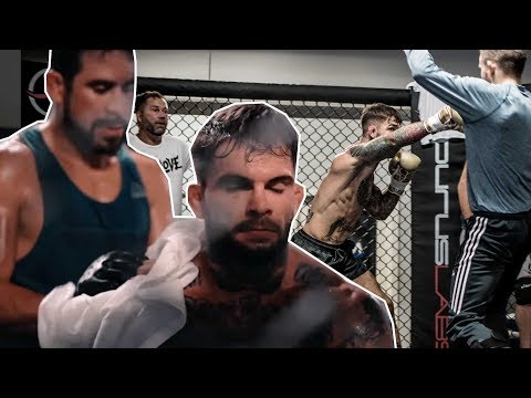 UFC227 NoLove Camp Ep8 : Strength and Conditioning plus Team Alpha Male fight simulation highlight!