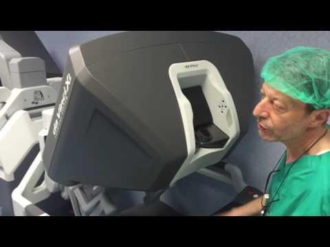 da vinci robot per la storia della chirurgia prostatica