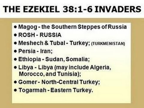 Prophetic Word: Russian President Putin Judged.  Ezekiel 38 Explained