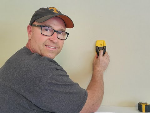 How to use a stud finder.