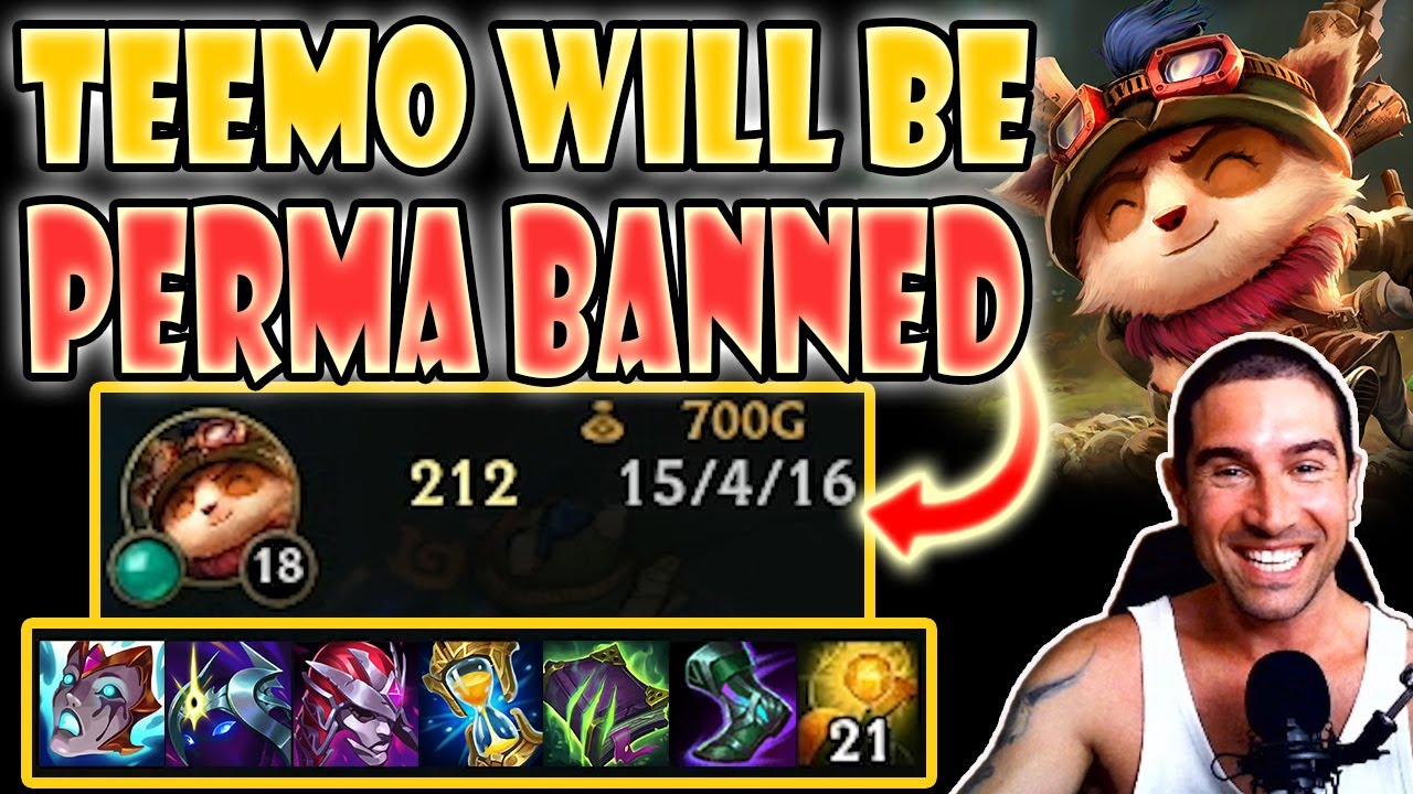 Download NEW S11 Items are LIVE and Teemo will be PERMA BANNED! FIRST OP BUILD [Teemo vs Yone] S11 Commentary