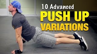 10 Advanced Push Up Variations: Body Weight Workouts For Muscle Growth