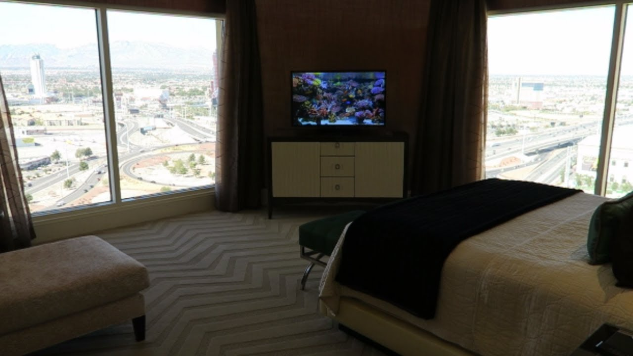 Bellagio 2 Bedroom Penthouse Suite Property las vegas hotel room tour: bellagio 1,500 sq. ft. penthouse suite