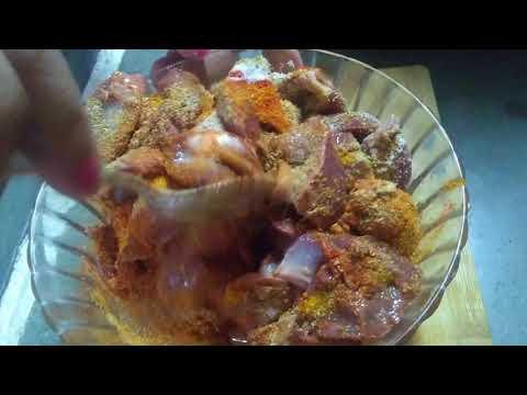 Chicken Kaleji And Pota Recipe/ Chicken Liver And Gizzard Recipe By Babli Ki Rasoi