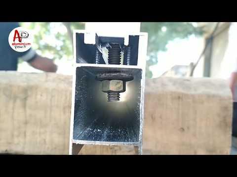 How To Make Aluminium Door Part2