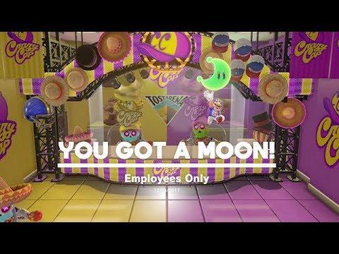 Sand Kingdom Crazy Cap Moon Super Mario Odyssey