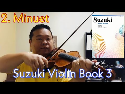 how to play minuet 3 on violin