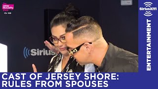 Snooki and J-Woww's husbands gave them rules before Jersey Shore: Family Reunion