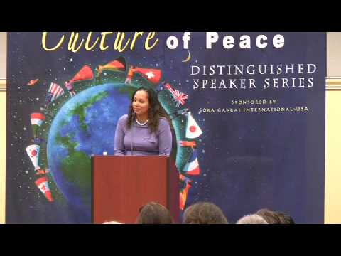 Anna Spain - Pursuing Peace: The Role of Individuals in Resolving International Conflict 6/6