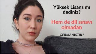 Araba Sohbeti | Almanyada dil sınavına girmeden yüksek lisans yapmak!