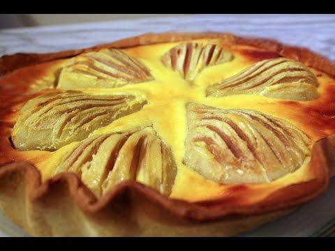 Recette de la tarte aux poires par Mamy Monica