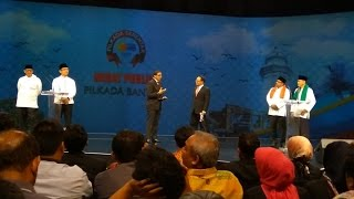 Debat Publik Pilkada Banten 2017 Putaran Pertama (Bagian 5)