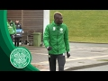 Celtic FC - TRAINING | Eboue Kouassi trains with the Bhoys!