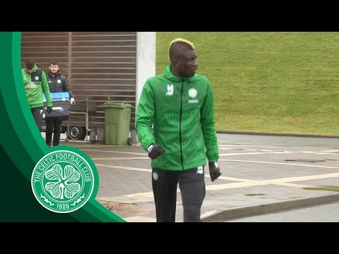 Celtic FC - TRAINING | Eboue Kouassi trains with the Bhoys!