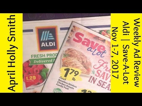 Weekly Ad Review Nov 1 -7, 2017 Aldi Save-A-Lot April Holly - save a lot flyer