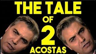 Acosta with Obama VS Acosta with Trump