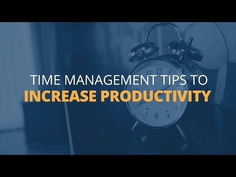6 Time Management Tips To Increase Productivity | Brian Tracy