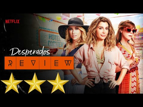 Desperados Movie Review Desperados Review Desperados Netflix Review Robbie Amell Youtube