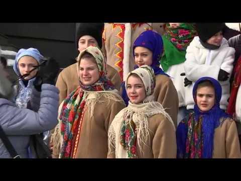 9-channel.com: Вертеп на вокзалі та сучасні українські вечорниці — у Дніпрі тривають святки