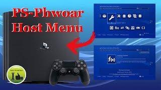 PS4 Exploit Host Menu PS-Phwoar! v1.0! Testamos!