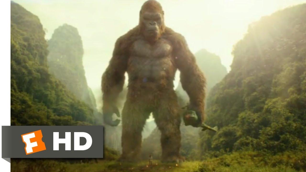 Download Kong: Skull Island (2017) - Kong Saves a Giant Buffalo Scene (4/10) | Movieclips