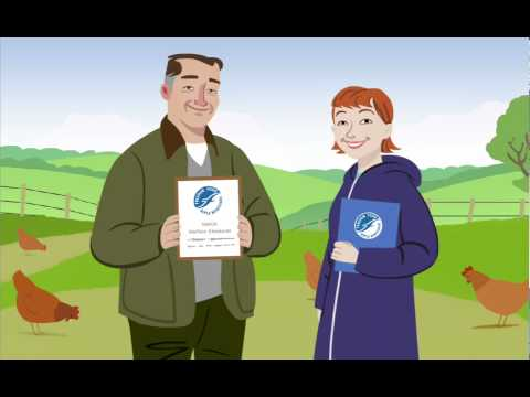RSPCA Freedom Food Animation - Hettie The Hen Tells It How It Is!