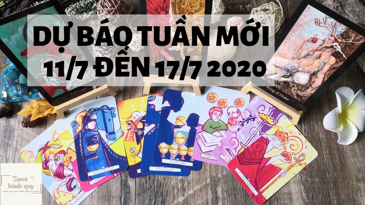 Dự báo tuần mới từ 11 đến 17 tháng 7 2020 - Chọn 1 tụ bài Tarot bánh quy