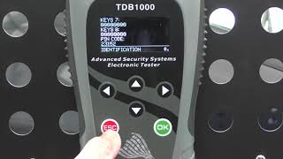 TDB1000 Fiat Punto Key programming