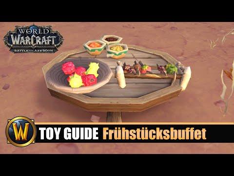 [WOW] Spielzeug Guide #154: Frühstücksbuffet Des Goldhauers
