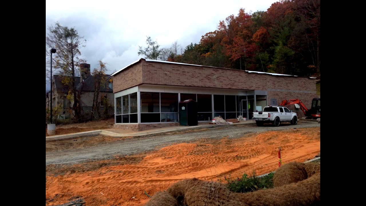 Waffle house boone nc construction time lapse youtube for Building a house in nc