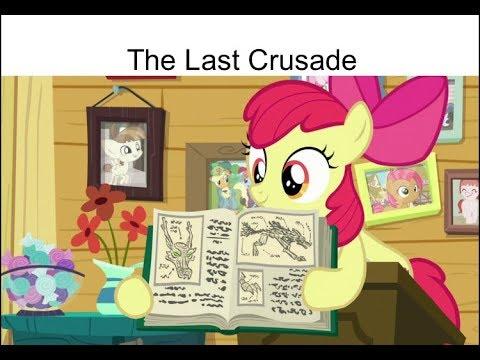 "Blind Reaction: MLP FIM Season 9 Episode 12 ""The Last Crusade"""
