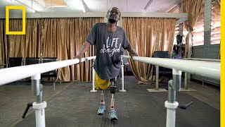 This Carpenter Builds Crutches For Children. Now Its His Turn To Walk. | Short Film Showcase