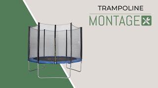 Montage d'un trampoline Alice's Garden