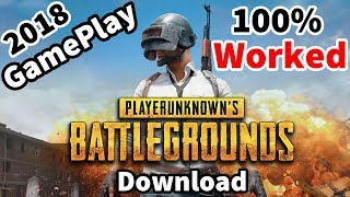 How To Download Playerunknown's Battleground Pubg Game On Pc Direct Link 100% Working 2018